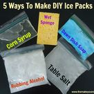 Homemade Ice Packs