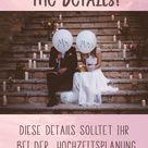 Hochzeit planen: DIESE Details solltet ihr bei der Hochzeitsplanung nicht vergessen!