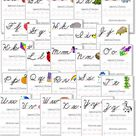 A-Z Cursive Handwriting Worksheets - Confessions of a Homeschooler