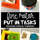 Fine Motor Put-in Tasks - Teaching Special Thinkers