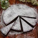 Schwedischer Schokoladenkuchen (Chokladbak) - Tinas Küchenzauber