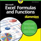 Excel Formulas and Functions For Dummies Cheat Sheet   dummies