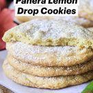 Panera Lemon Drop Cookies