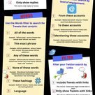 Twitter for Teachers Professional Development: A Guide to Advanced Search Tips