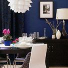 Navy Accent Walls