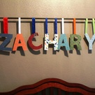 Hanging Wall Letters
