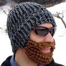 DIY Bearded Winter Hats