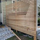 How to Build a Small Privacy Screen