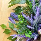 Wreath, Spring Wreath, Summer Wreath, Farmhouse Wreath, Wreath for front Door, Spring Decor, Everyday Wreath, Large Wreath, Grapevine Wreath