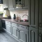 Keukenkastjes Verven met Annie Sloan Chalk Paint