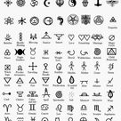 Witches' Grimoire  - Sigils & Symbols: Meanings