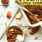Vegan Apple Crisp