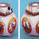 Star Wars - Sphero BB8-Droid Paper Toy - by Fold Up Toys
