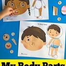 My Body Parts - Printable Puzzles