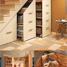 Under-Stair Storage Cabinets