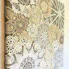 Shamrock Soiree Crochet Doily Pattern, PDF Digital Download