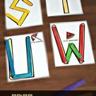 FREE Popsicle Stick Letter Printables | Free Homeschool Deals ©