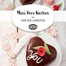 Mini-Herz-Kuchen