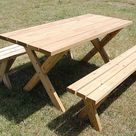 Weekend DIY Picnic Table Project – Kick Ass or Die