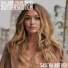 BUTTERSCOTCH HAIR COLOR FOR FALL 2016 | SASCHA BREUER - Bangstyle