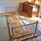 DIY Farmhouse Table | Free Plans | Rogue Engineer