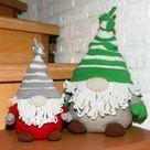 Gnome - Doorstop, Decoration - Crochet Pattern