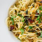 Spaghetti Aglio, Olio e peperoncini   Rezept