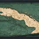 Cuba Wood Chart Map