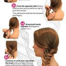 How to do an Easy Fishtail Braid.   RY