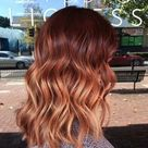 25 Copper Balayage Hair Ideas for Fall   Page 3 of 3   StayGlam