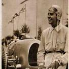 Auto Union Audi Type C, Bernd Rosemeyer 1938. From CarPoster.com.