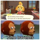 Isabelle is onto us . . .