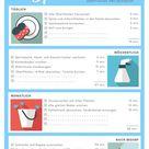 Putzen nach Plan: Wenige Minuten täglich ersparen das Großreinemachen