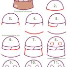 How to Draw a Cute Cartoon Baby Yoda (Kawaii / Chibi) Easy Step by Step Drawing Tutorial - How to Draw Step by Step Drawing Tutorials