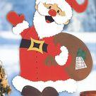 Weihnachtsmann basteln: Kostenlose Weihnachtsmann Vorlage   familie.de