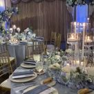 Blue and White Wedding at Oheka Castle in New York