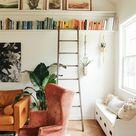 DIY picture ledge + bookshelf. - In Honor Of Design