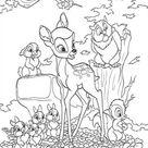 Kids-n-Fun | 29 Kleurplaten van Bambi 2