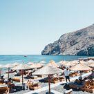 Santorini Umbrellas VI - Large (Edition of 25) / No Frame