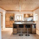 Küche aus Altholz › pur natur