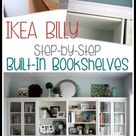 Bookshelves Ikea