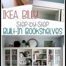 Bookshelves Ikea