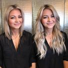 10 Before and After Tape In Hair Extensions | Hair Extension Magazine