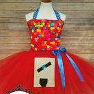 Gumball machine Tutu dress   Tutu dress Halloween Costume  | Etsy