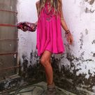 Hot Pink Dresses