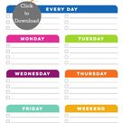 Cleaning Schedule Templates