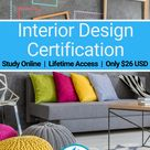Interior Design Certification - ONLY $26 USD