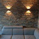 Brons rustiek kwartsiet natuursteenstrips - Steenstrips van natuursteen