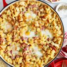 Croque Madame Mac and Cheese - The Candid Appetite