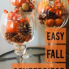 Easiest Fall Centerpiece Ever